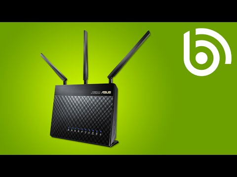 ASUS RT-AC68U AC1900 Wireless-AC Router Overview
