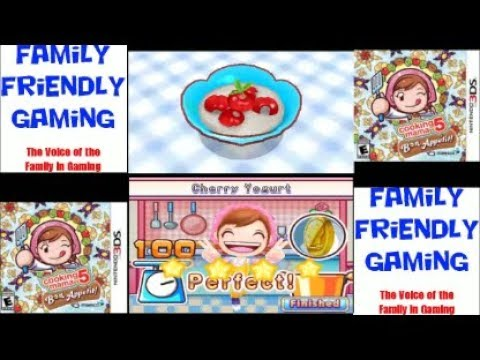 Cooking Mama 5 Bon Appetit! Cherry Yogurt
