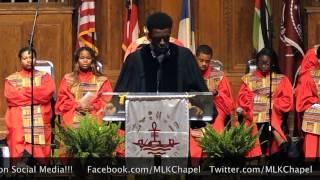 "Minister Darien J. Jones'17 delivers a message entitled ""Never Shall I Forget"" (Joshua 24:15) during our evening Vesper Service..."