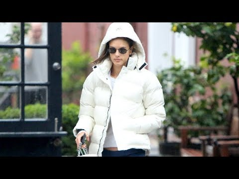 Alessandra Ambrosia Shows Us How To Stay Dry In Style In Rainy Weather!