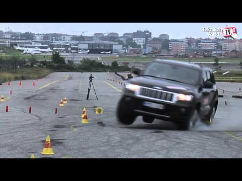 Jeep Grand Cherokee Moose Test Fail
