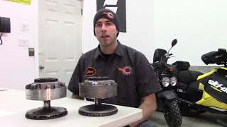 10. Ski-Doo TRA Clutch disassembly, inspection and assembly by RawFuelTV