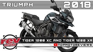 8. 2018 TRIUMPH TIGER 1200 XC and 2018 TRIUMPH TIGER 1200 XR Review Rendered Price Release Date