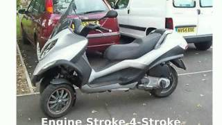 1. 2007 Piaggio MP3 Three Wheeler - Details
