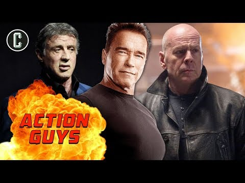 Who Will Be The Last Aging Action Hero Of The 80's Left Standing - The Action Guys