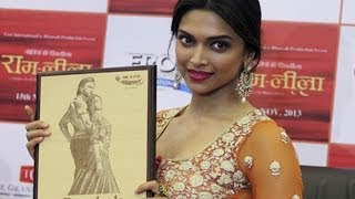 Leela visits Ahmedabad (Ram-leela promotions)