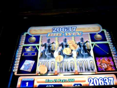 INCREDIBLE Black Knight (WMS) Video Slot Machine Bonus Win 325x Bet!