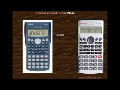 Caldeiraria - Esta é o primeiro vídeo sobre como usar as principais funções da calculadora Cásio fx 82MS, principalmente as envolvidas com os cálculos de caldeiraria. Entr...