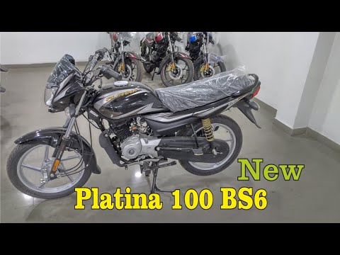 New Bajaj Platina 100cc BS6 Comfertech  Price Mileage Features Full Review In Hindi