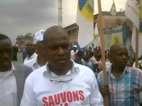 Le meeting de  « Sauvons la RDC » contre la révision constitutionnelle a été étouffé par le pouvoir de KABILA