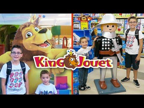VLOG - Shopping et Haul à KING JOUET - Centre Commercial Carré de soie