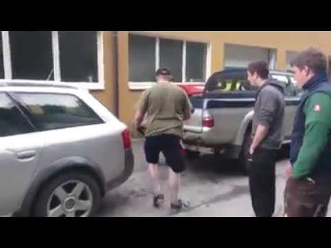 Audi allroad vs mitsubishi magnum