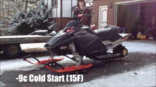 1. 2006 MXZ Adrenaline Walk Around & Cold Start