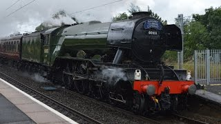 Racing 60103 Flying Scotsman In Cumbria Saturday 2nd July 2016