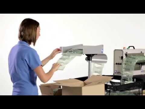 Air Pouch Machine video