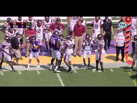 Shane Carden Game Highlights vs Virginia Tech 2013 video.