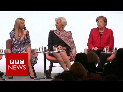Groans at Ivanka at G20 women's summit - BBC News