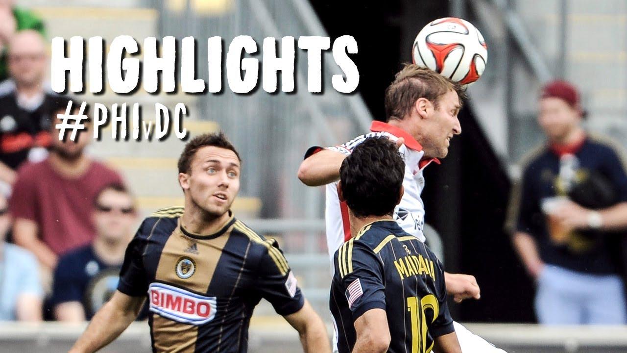 HIGHLIGHTS: Philadelphia Union vs D.C. United | May 10, 2014