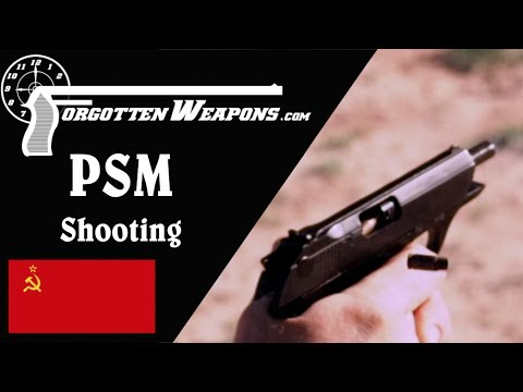 PSM Shooting: 5.45x18mm vs 7.62x25mm on Soft Armor