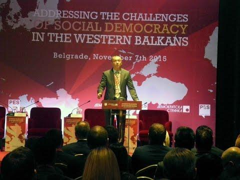 Бојан Пајтић, говор на конференцији Изазови социјалдемократије на Западном Балкану