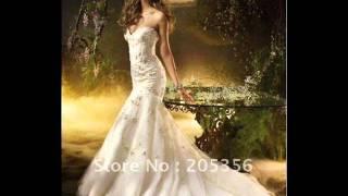 احدث فساتين الزفاف التركى