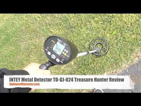 INTEY Metal Detector TO-GJ-024 Treasure Hunter Review