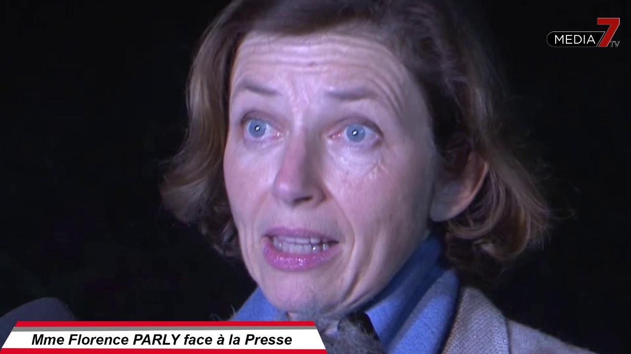 Mme Florence PARLY face à la Presse