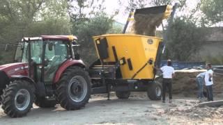 10 m³ Yem Karma Makineleri/Feed Mixer Vagons