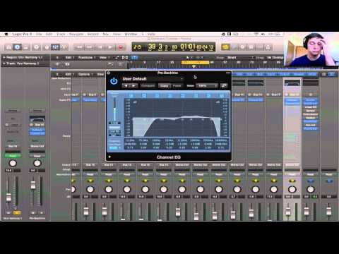 Logic Pro X Tutorial – Mixing Background Vocals #1