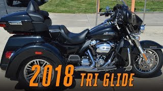 8. 2018 Harley-Davidson FLHTCUTG Tri Glide Ultra Greensboro Winston-Salem Burlington Raleigh Charlotte