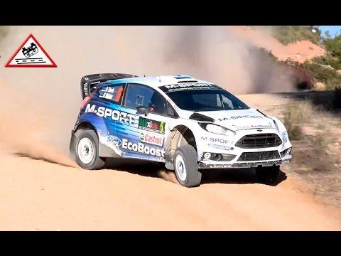Test Ott Tänak   Ford Fiesta WRC   Rallye Mexico 2015 [Passats de canto]