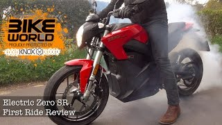 6. Zero SR Electric Motorbike First Ride Review