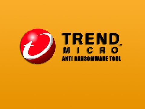 Remove Ransomware with Trend Micro AntiRansomware Tool