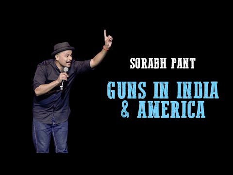 Guns in America  India Standup Comedy by Sorabh Pant  MakeIndiaGreatAgain