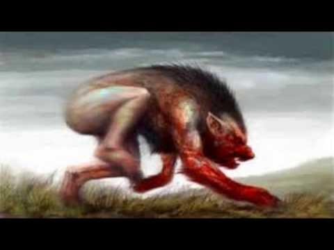 EL hombre lobo de argentina 100%100 real (видео)