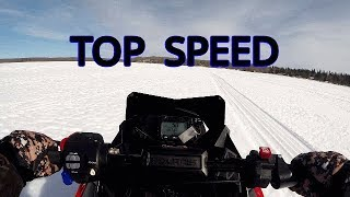 8. Polaris Indy Evo speed run
