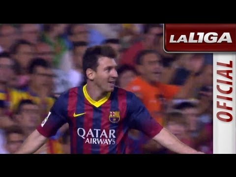 Resumen de Valencia CF (2-3) FC Barcelona - HD - Highlights (видео)
