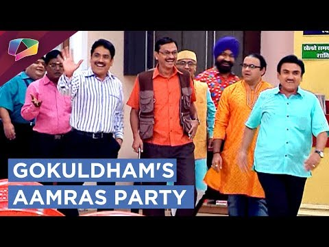 Jethalal Gives Aamras Party To All|Taarak Mehta Ka