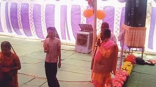 Tulsi maharani namo namo,, bhajan,, Kavahariya raigarh chhattisgarh SE bhagwat Katha 2018 ckvaishnav