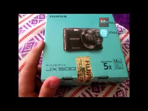 Unboxing Camara Fujifilm FinePix JX500