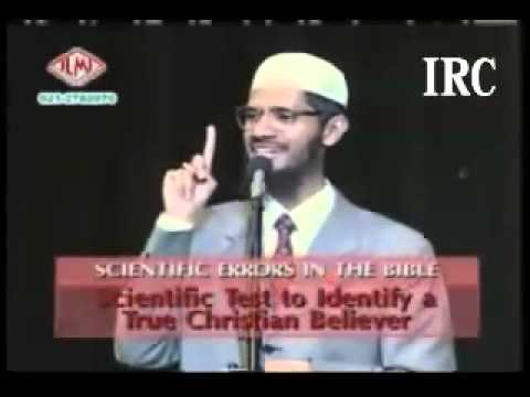 Dr Zakir Naik vs Dr William Campbell in Urdu Hindi part 5