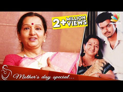 I Would Love To Act As Vijay's Mother : Shobha Chandrashekar | Mothers Day Interview | Theri