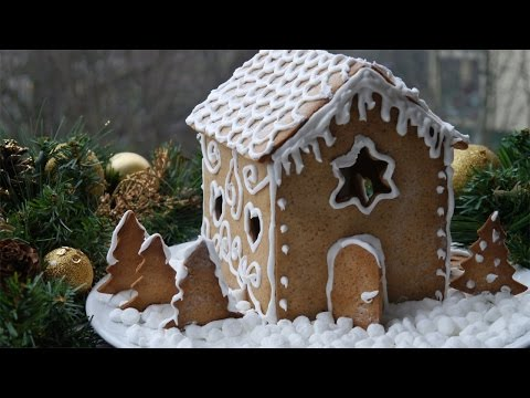 ricetta natalizia: casetta pan di zenzero