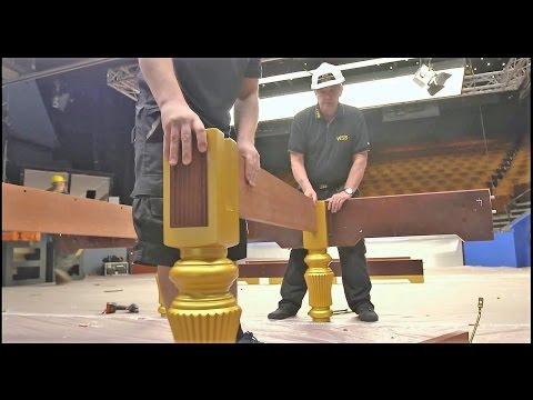 Assembling A Snooker Table
