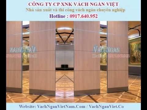 Vách ngăn di động giá rẻ tại TPHCM - Đà Nẵng