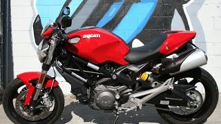 7. Ducati Monster 696 ABS ... Super Clean w Only 1699 Miles!