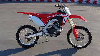 8. 2018 Honda CRF450RX