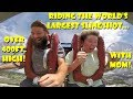 Download Lagu Riding The World's Largest Slingshot (400ft.) With Mom POV & Review - Orlando Slingshot! Mp3 Free