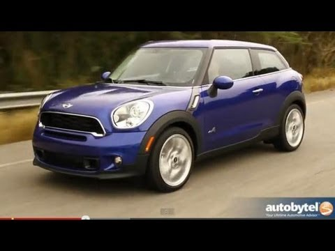 2013 MINI Paceman S ALL 4 Crossover Video Review
