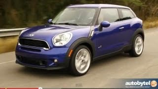 2013 MINI Paceman S AWD Test Drive&Compact Crossover Video Review